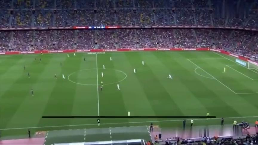 西甲-梅西双响+两中框巴萨迎6000球3-0完胜阿拉维斯