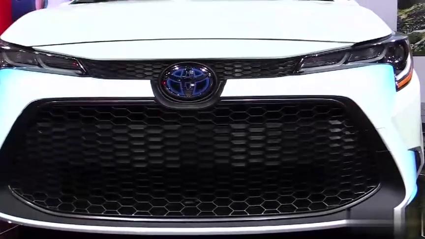 视频:2020款丰田花冠混合动力高清实拍,外观与内饰全方位展示