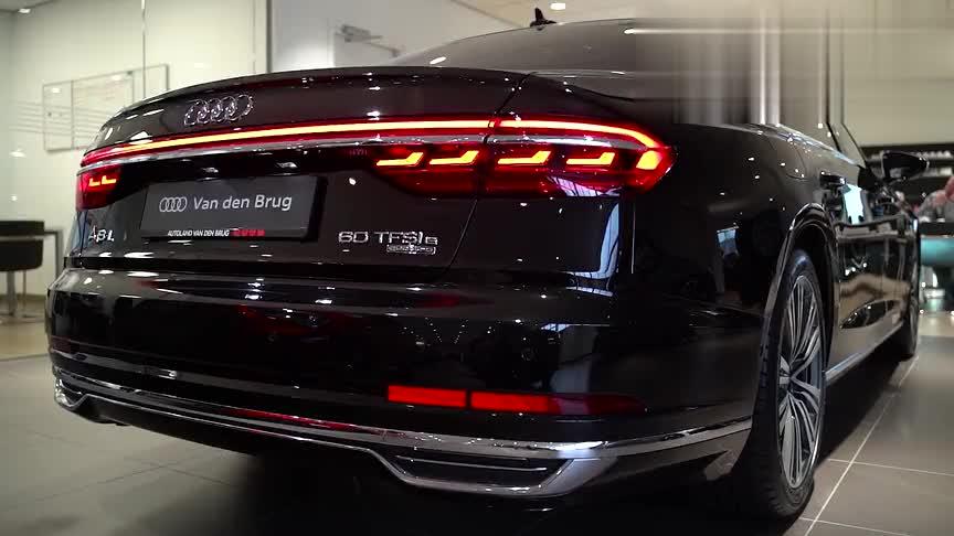视频:2020款奥迪A8L,60 TFSI Quattro,近距离高清鉴赏