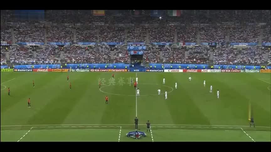 经典回顾欧洲杯西班牙意大利巅峰对决,点球大战卡西战胜布冯!