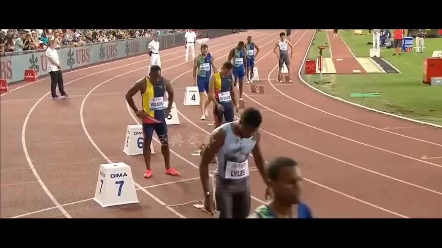 新一代短跑之王!精彩回顾莱尔斯200米个人最好成绩19秒50