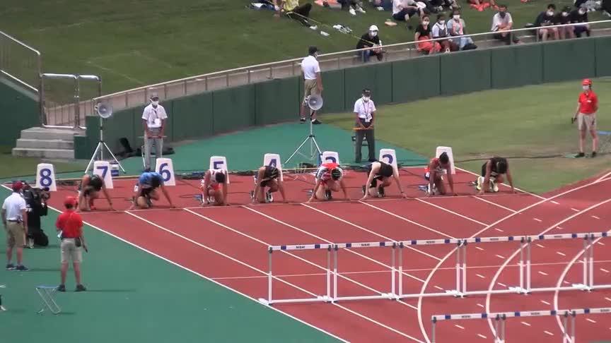 日本福井田径之夜男子110米栏决赛
