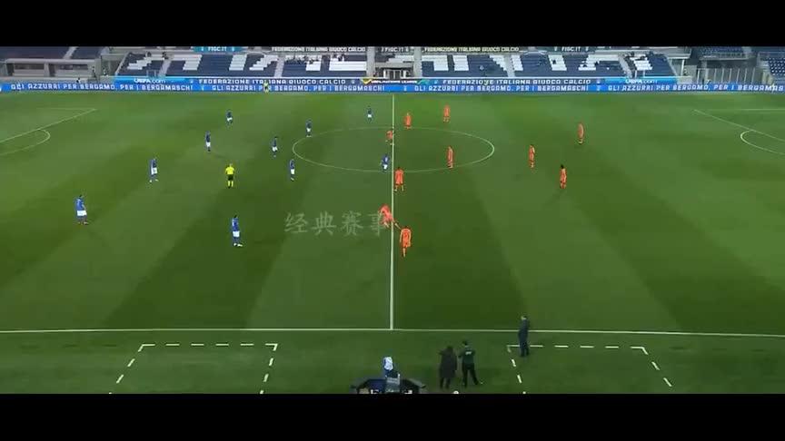 欧国联佩莱格里尼破门,范德贝克扳平,荷兰1-1战平意大利