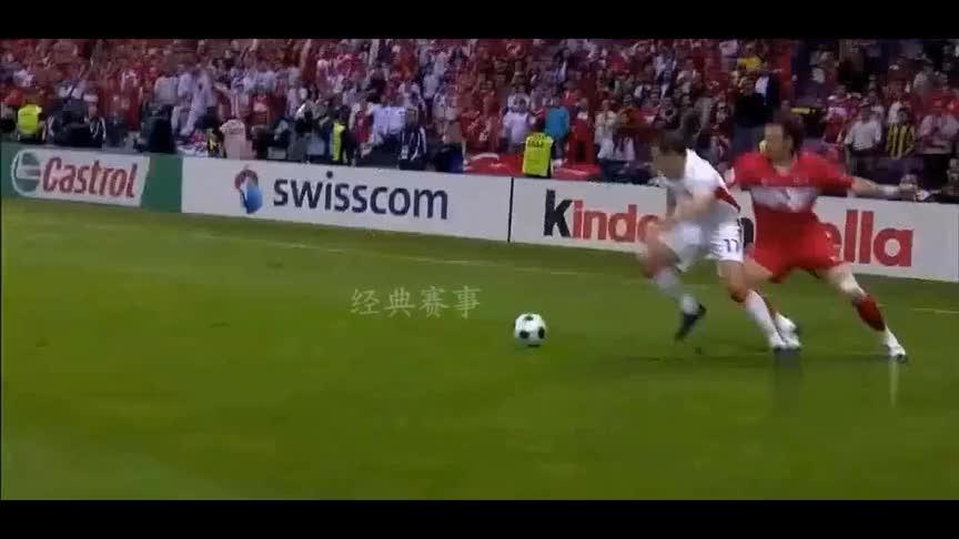 重温欧洲杯经典比赛,土耳其2球落后连扳3球大逆转捷克!