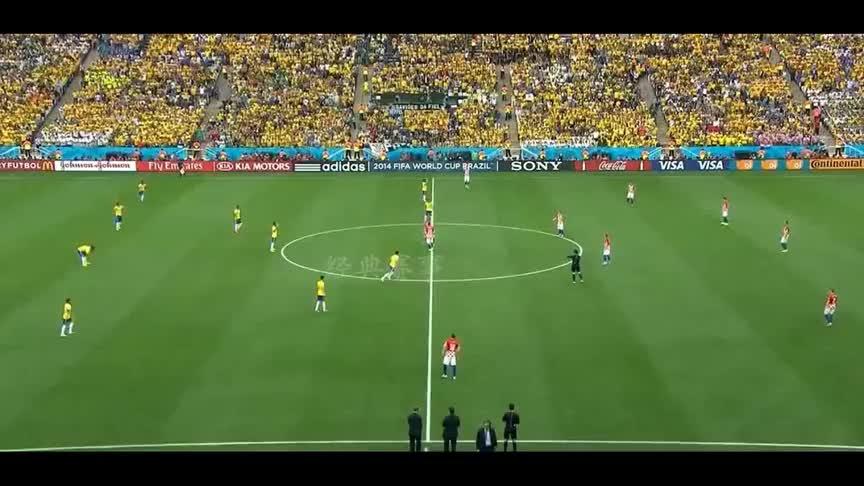 重温巴西世界杯揭幕战,内马尔梅开二度,巴西逆转克罗地亚!