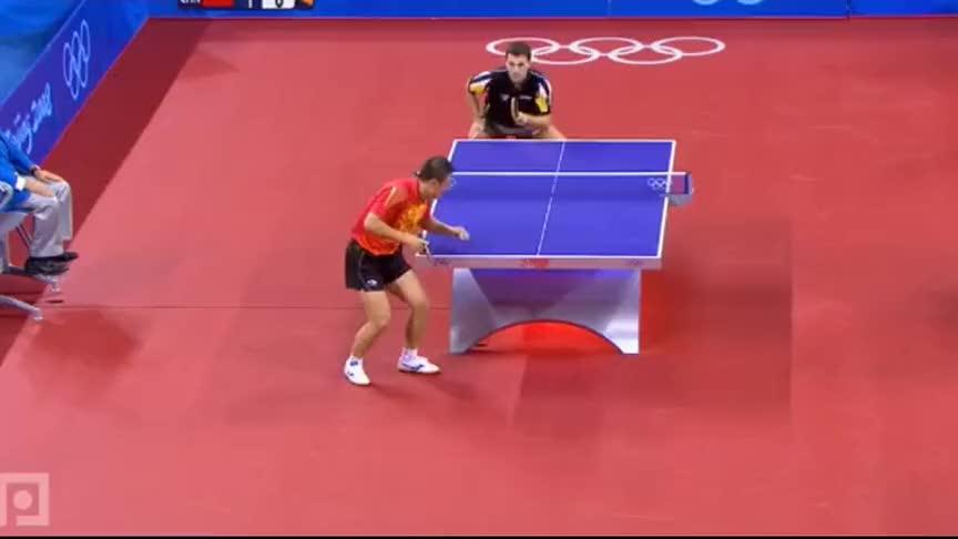 乒坛男神是如何炼成的?马琳北京奥运夺双冠,离不开这板球