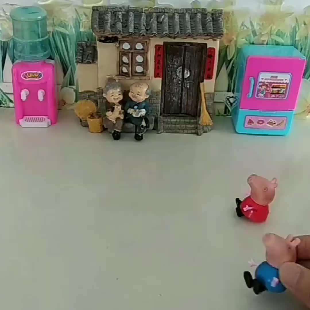超级飞侠给佩奇乔治送来了快递,僵尸也好想吃呀!