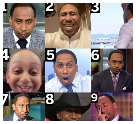 A-史密斯晒自己的表情包合照:请选一张你最喜欢的