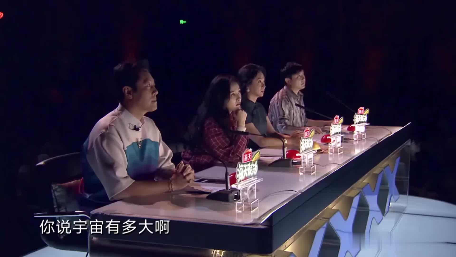 中国达人秀:退伍军人舞台圆梦,蔡国庆感同身受,给出黄金按钮!