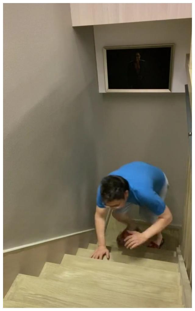 央视主持人王为念晒视频,住宅内景曝光,复式楼房纯木楼梯超大气