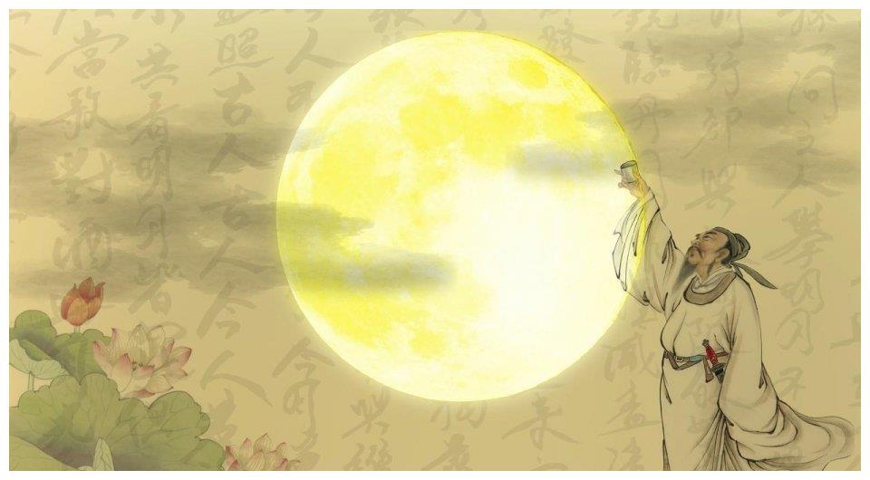 李白与杨贵妃一起玩,原来他与唐玄宗是自家人