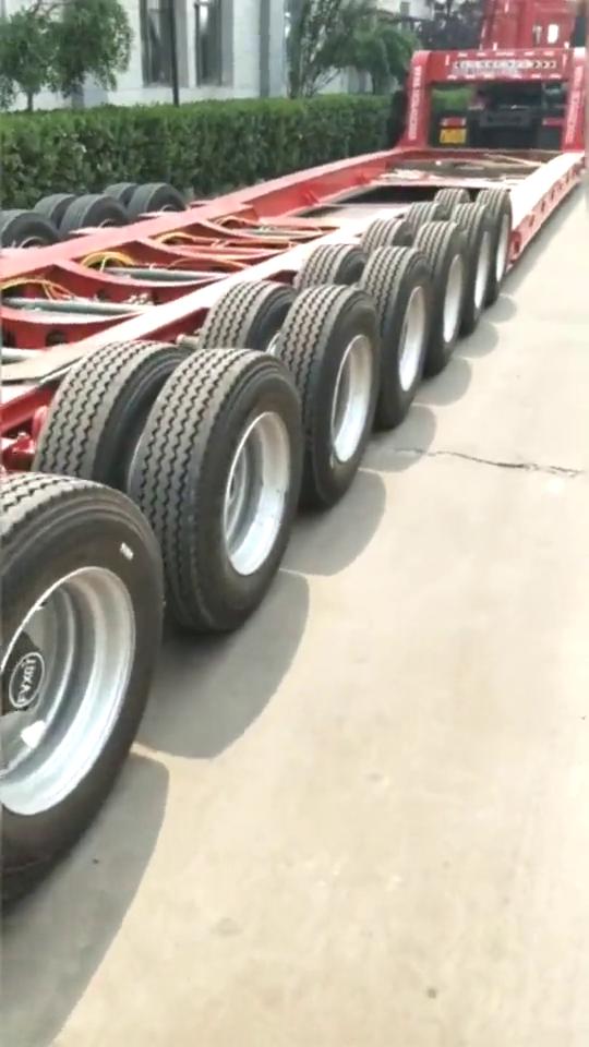 就这个轮胎这么多,这能拉多少斤货物