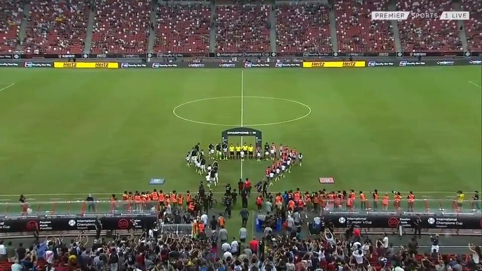 万博体育球会友谊赛巴黎圣日耳曼VS马德里竞技