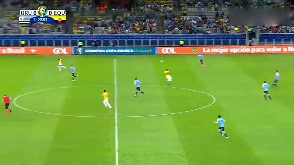 苏神传射卡瓦尼倒钩破门,美洲杯乌拉圭4-0胜十人厄瓜多尔!