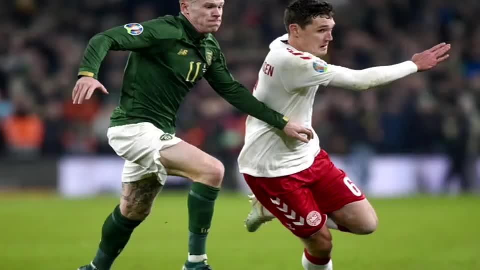 晋级正赛!丹麦战平爱尔兰 小组第二锁定欧洲杯出线名额