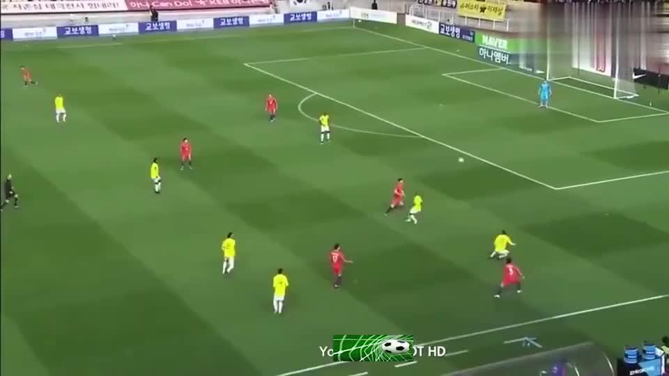足球:J罗被韩国队员抽了一巴掌,结果友谊赛瞬间踢成了友尽赛