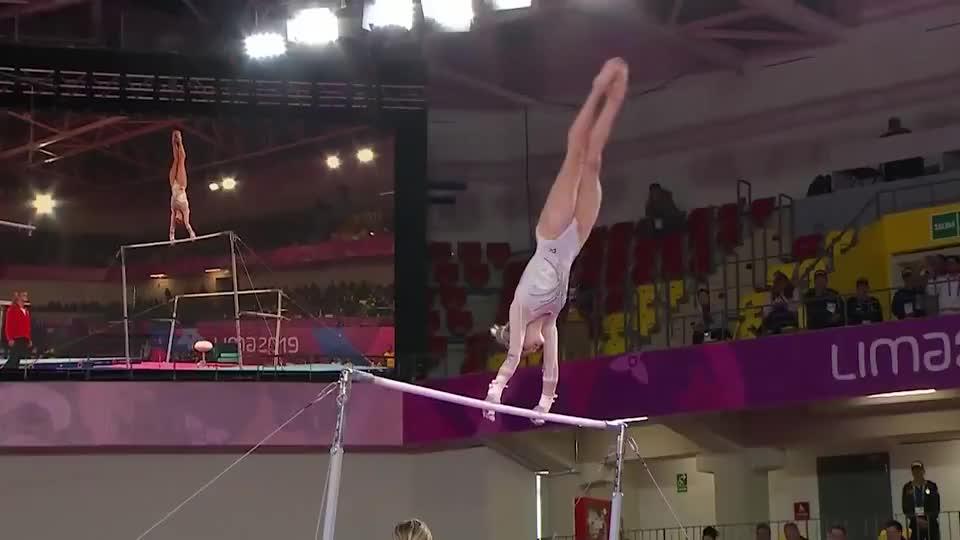 中国最美体操女神,高低杠公主金牌大满贯,只因一点至今还是单身