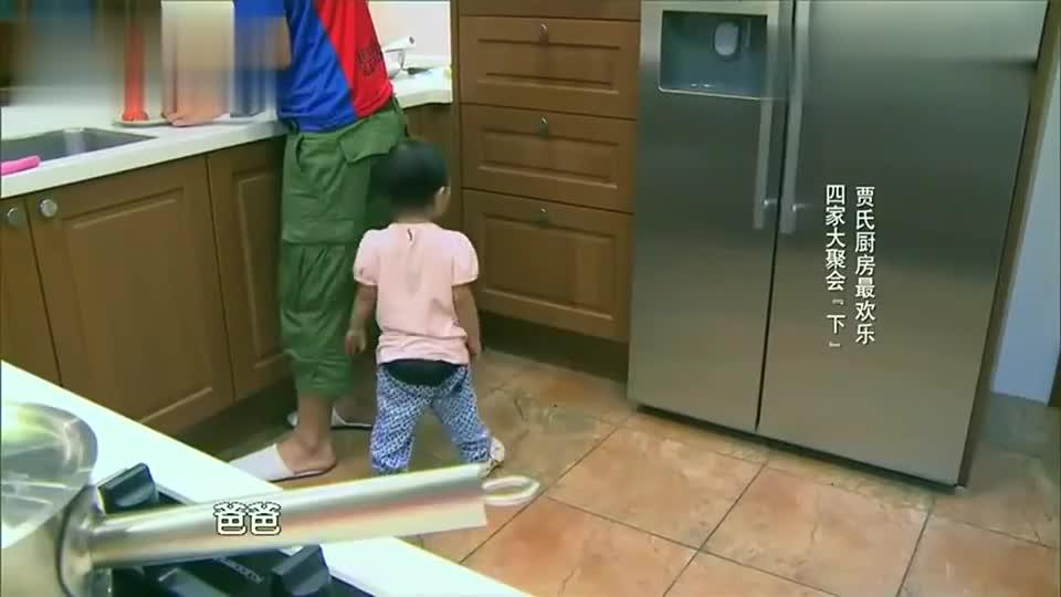 甜馨喜欢威廉哥哥,贾乃亮吃醋斤斤计较,奶爸醋坛子打翻了!