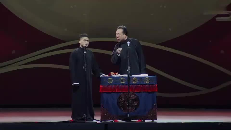 岳云鹏:我是一米七四,我师父是一米六八