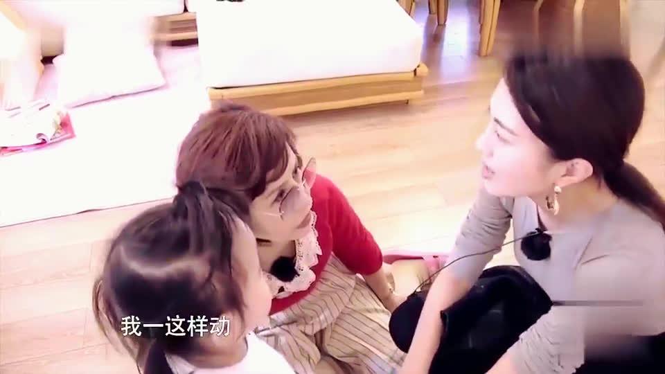 包文婧不小心受伤,饺子一脸关心的小表情,不愧是母女情深!