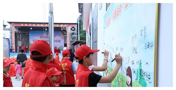 安化县高明乡:小小志愿者 为文明乡风注入新活力