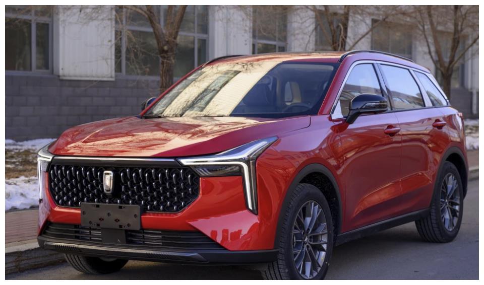 全新紧凑级SUV奔腾T55实车图曝光 2021年一季度亮相