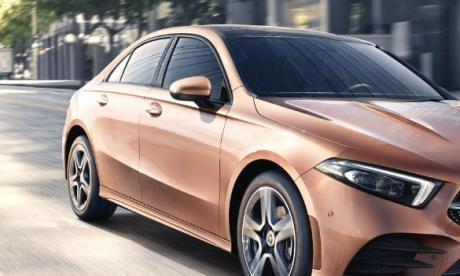 奔驰A级,作为一款紧凑型车,销量非常一般