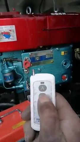 汽车没有一键启动就太落后了,高端柴油机都能一键启动黑科技