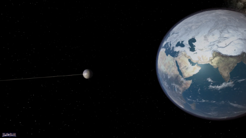 可怕!当巨大的小行星撞击了地球,那会怎样?