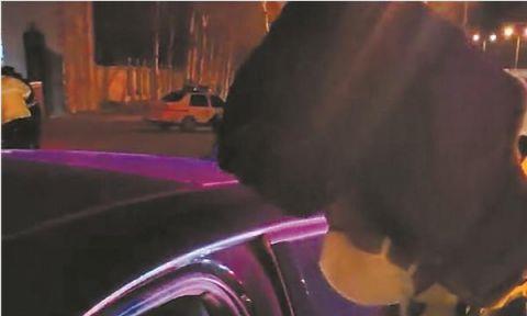 看到交警想弃车逃跑 原来是二次酒驾