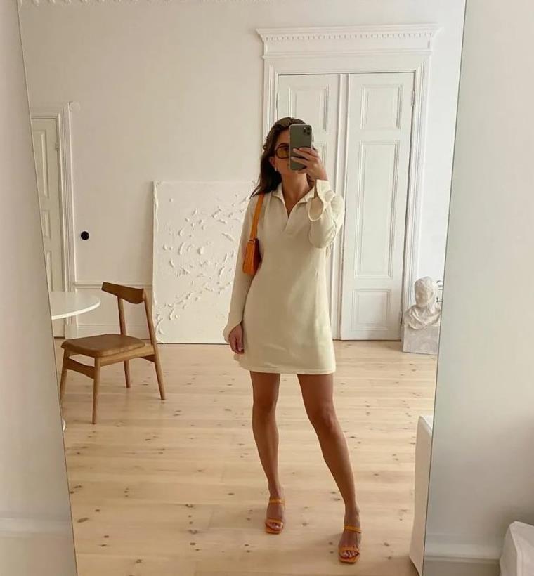 polo衫的另一种复兴趋势:polo连衣裙