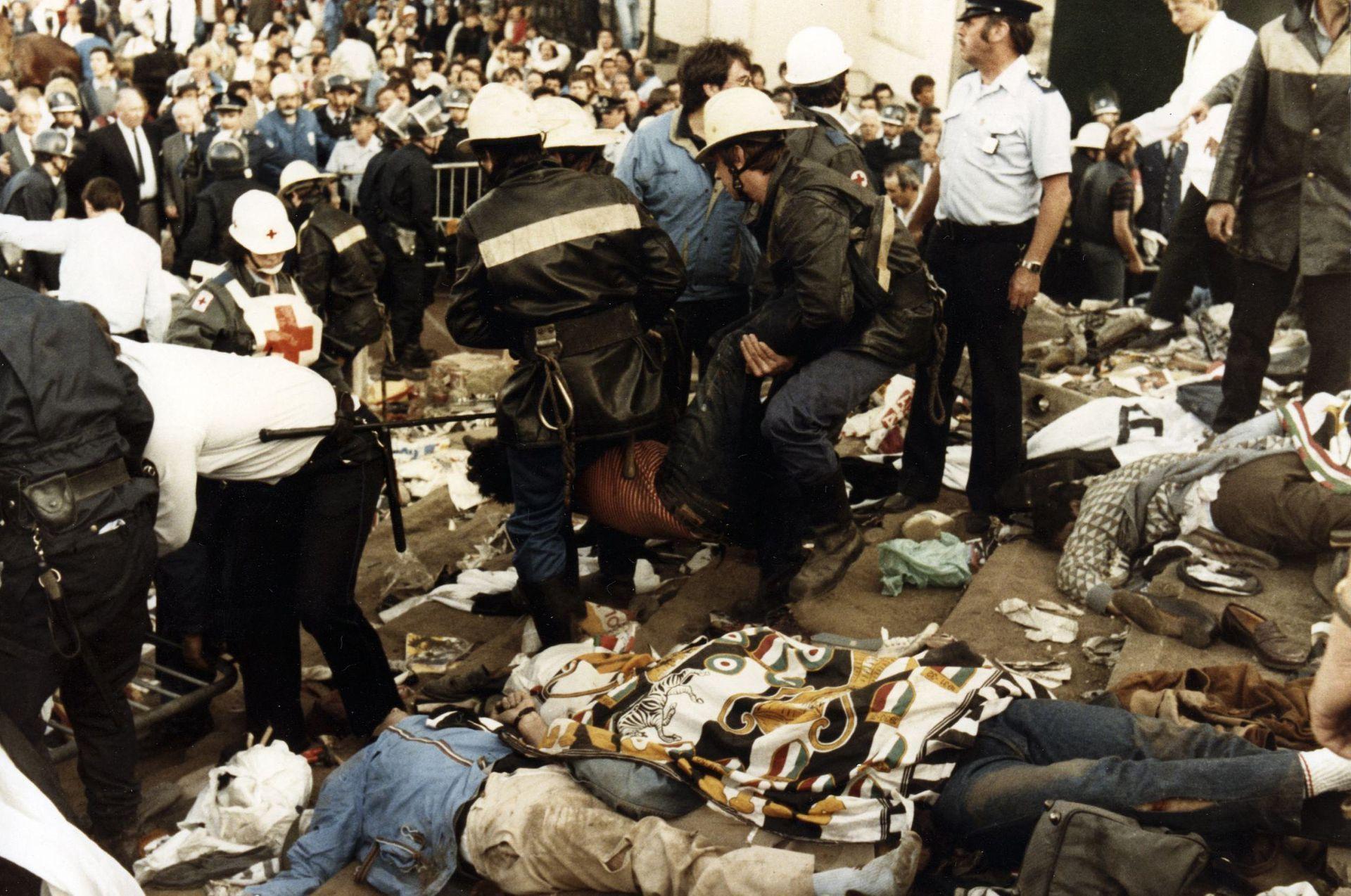 欧洲足联史上最黑暗一小时:海瑟尔惨案致几十人丧生