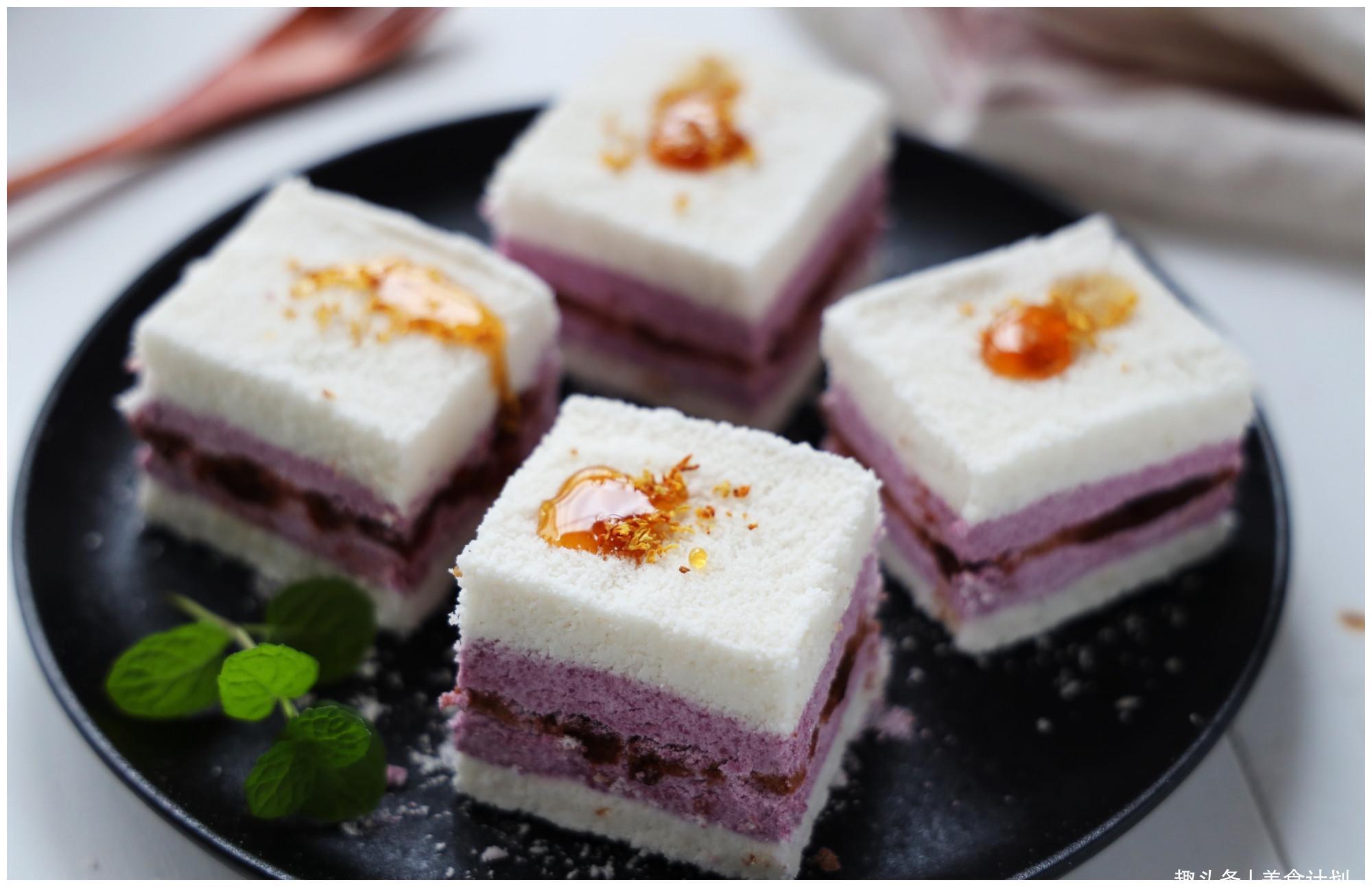 教你做好吃又好看的大米松糕,掌握正确方法,在家做几乎不会失败