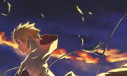 回忆童年火影忍者美丽的画面