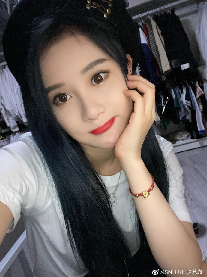 SNH48-段艺璇美少女自拍美照欣赏好可爱