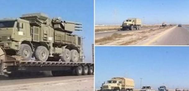 联手抗衡土耳其,叙利亚将一防空系统送到利比亚,专门对付无人机