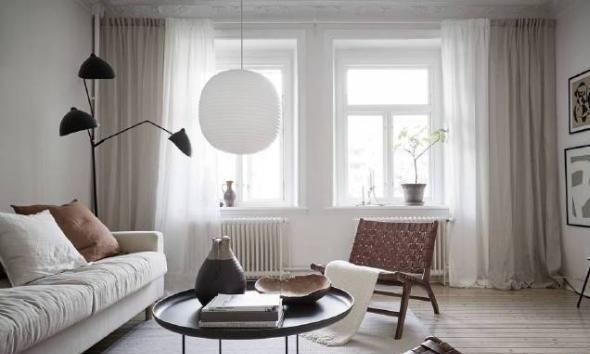 北欧风之家设计,地球颜色系统擅长创建复古风,温暖无比