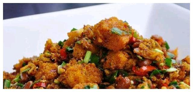 美食推荐:家常炒鱼籽,枸杞木耳炒山药,火爆鸭肠的做法