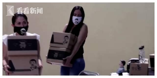 墨西哥政府不作为,黑帮给穷人派发物资,却被网友讽刺动机不纯