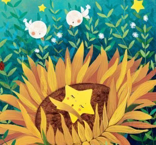 花里长出小星星
