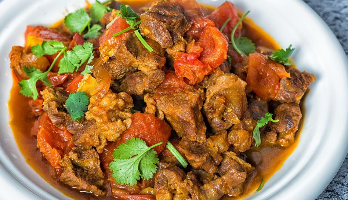 教你做美味的番茄牛腩,牛肉软烂入味,番茄酸甜开胃