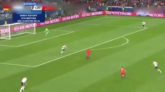 联合会杯-外语解说德国1:1智利桑神破门施廷德尔建功