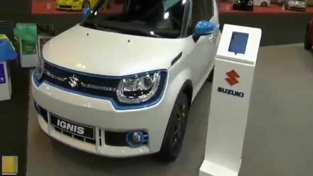 浑身运动感的SUV-18款铃木英格尼斯到店,1.2L配CVT仅售12万起
