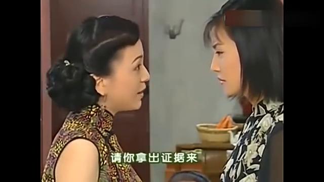 情深深雨蒙蒙:雪姨依萍家说话,句句扎心,结果陆振华上门,虐了