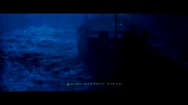 渔船雷达突然报警,屏幕上显示有不明巨物接近,然后就没有然后了