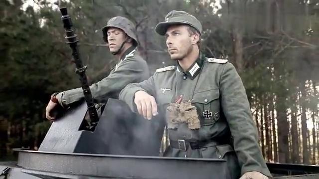 战争片《诺曼底红玫瑰》:苏德两军丛林厮杀,诺曼底登陆攻防战!