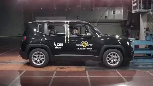 视频:Jeep自由侠安全性能如何?欧洲NCAP碰撞测试只得三颗星