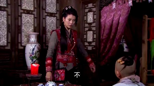 糊糊找秋月谈话,嫌弃上官靖宇太帅,想让陆三金当他的后爹