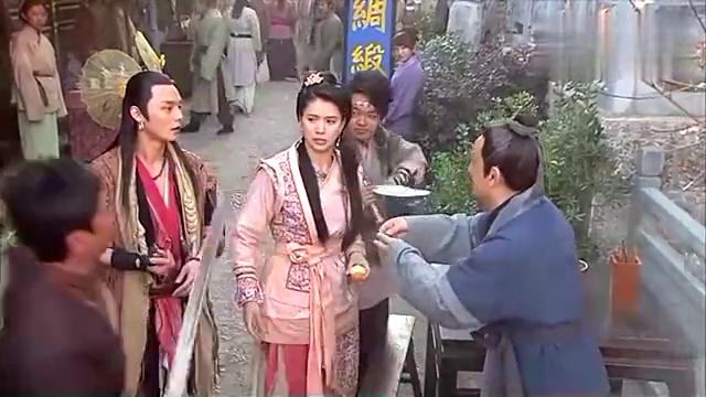 龙门镖局:陆毅扮演小捕头,谁知出场就和黑道靓妹杠上,有戏看了