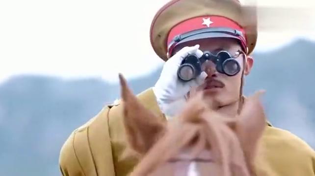 鬼子骑兵追杀蒙古骑兵,是八路军假扮的